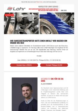 Newsletter Juni 2018 – Ihr Fahrzeugtransporter hatte einen Unfall ...